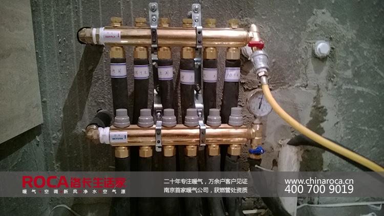 暖气分水器结构示意图