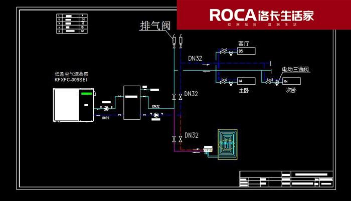 【南京绿泽园林会所空气能热源地暖采暖,约克商用中央空调制冷系统图片